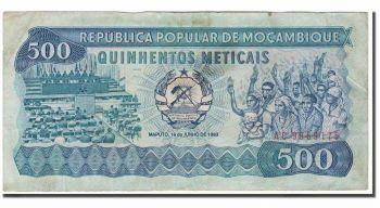 MOZAMBIQUE 10000 METICAIS 1991 P 137 UNC