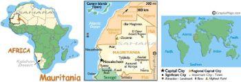 MAURITANIA 1.000 OUGUIYA 2006 P-13 UNC