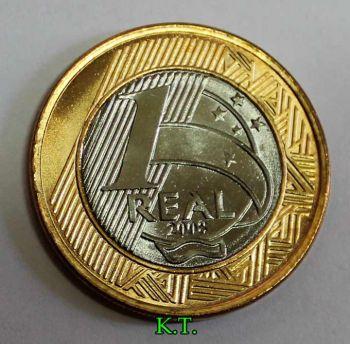 Βραζιλία 1 Real 2008 ακυκλοφόρητο