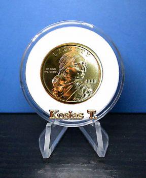 """UNC 2000 Golden Sacagawea """"P"""""""