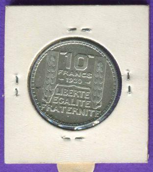 FRANCE 10 φράγκα 1930 ΑΣΗΜΕΝΙΟ XF