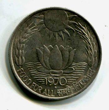 INDIA 1/4 ρουπίας 1940 ΑΣΗΜΕΝΙΟ