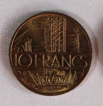 FRANCE 10 francs 1984 Εξαιρετικό!