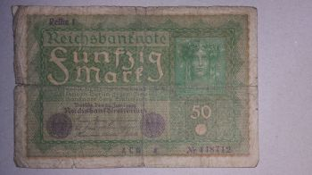 GERMANY 5 MARK 1991 P37 UNC