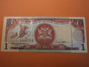 TRINIDAD AND TOBAGO 5 DOLLARS 2006 (2015) UNC