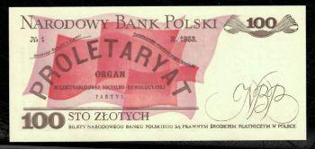 Poland 100 Zloty 1986