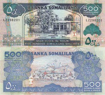 Somaliland 500 Shillings 2011