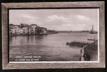 Chania-Creta. View of the harbour! Rare!!