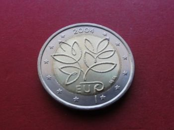 Finland 2 euro 2004CC  Enlargement of the European Union by ten new Member States