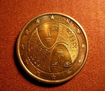 Finland 2 euro  2006 CC  UNC   100th anniversary of universal and equal suffrage