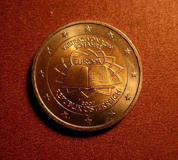 Austria 2 euro 2007 CC  ToR  UNC