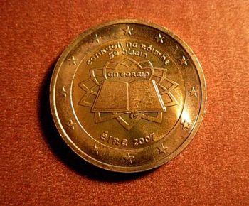 Ireland   2 euro 2007 CC  ToR   UNC