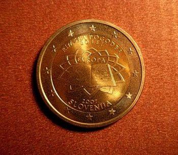 Slovenia  2 euro  2007 CC  ToR  UNC