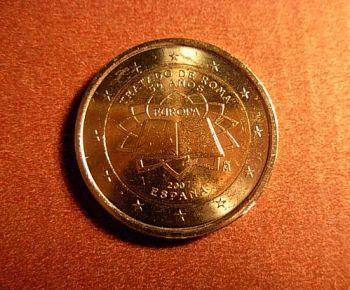 Spain  2 euro  2007 CC ToR   Unc