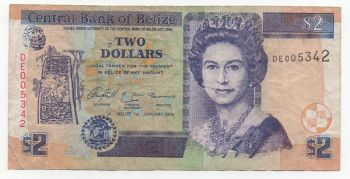 BELIZE $100 DOLLARS 2006 P-71b UNC