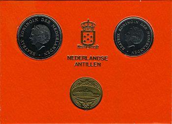 Ολλανδικές Αντίλλες 1980 Σετ