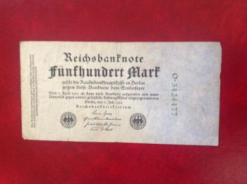 GERMANY 100 MARK 1-11-1920 P-69 AUNC