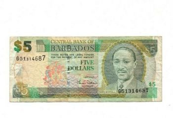 ΝΗΣΙΑ BARBADOS  $2, 2007 UNC