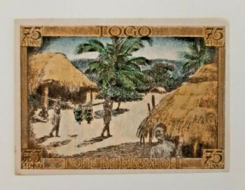 WESTERN AFRICAN STATE TOGO 500 FRANCS  P 810 T 1995 UNC