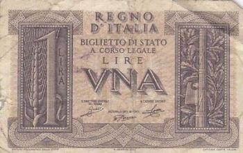 ITALY 10.000 lire 1973  XF