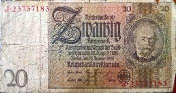GERMANY 500.000 MARK 1 SEPTEMBER 1923 P-92 UNC