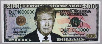 Άκοπα χαρτονομίσματα 1 δολαρίου Αμερικής