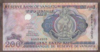 VANUATU 1000 VATU 2002  UNC