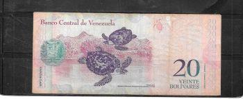 VENEZUELA SET  10-20-50 BOLIVARES UNC