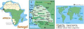 WEST AFRICAN STATES SENEGAL 10.000 FFRANCS P-714K 1999 UNC