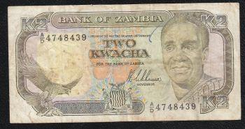 ZAMBIA 50.000 KWACHA 2012 UNC