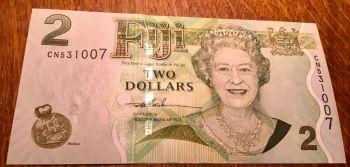Νησιά FIJI 2 $ 2007 Queen Elisabeth II UNC