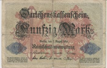 GERMANY 10 MARK, 6 Φεβρουαρίου 1920 AU-UNC