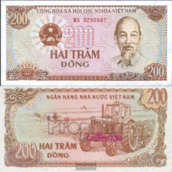 SOUTH VIETNAM 20 DONG ND (1956) P-4 UNC