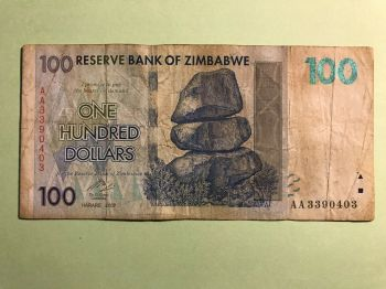 ZIMBABWE 1 MILLION (1.000.000) DOLLARS 2008 P-77 UNC