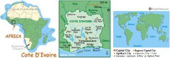 Ακτή Ελεφαντοστούν (Ivory Coast) 1000  FR.  P115-A 2003 UNC