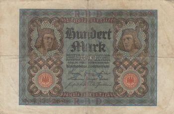 GERMANY 1 RENTENMARK 30 -1- 1937 UNC