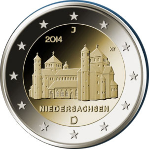 Germany 2 euro 2014