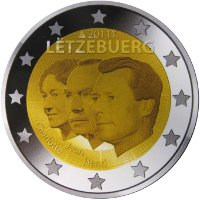 luxembourg 2 euro 2011