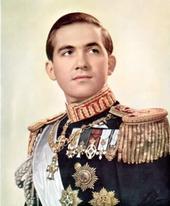 king constantine II