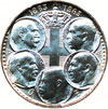 king paul coins - 30 drachmas 1963
