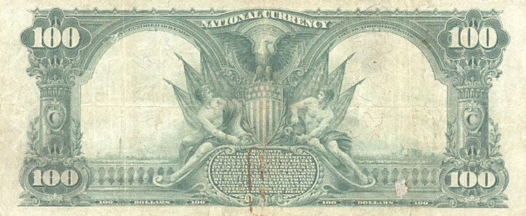 us banknotes - one Hundred dollars