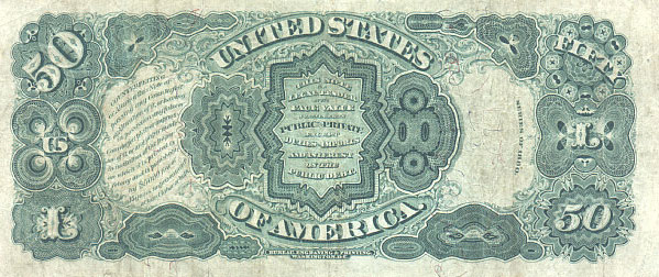 us banknotes - fifty dollars